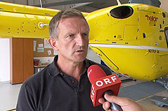 Pilot Gerold Hofbauer