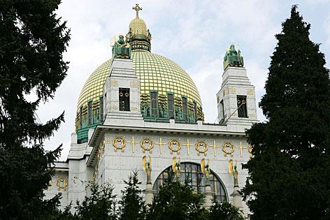 Die Otto Wagner-Kirche in Wien-Steinhof