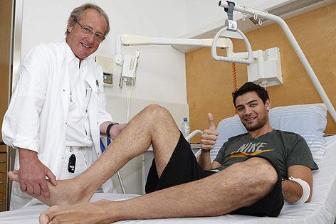 Carlos Delfino im Spital