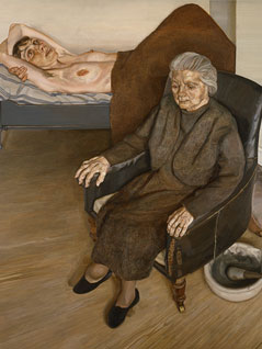 Large Interior Lucian Freud 1973