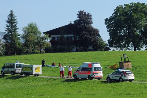 Oberndorf Tödlicher Unfall Heißluftballon