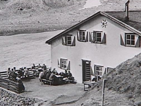 Hofmannshütte auf Archivaufnahmen
