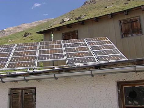 Solaranlage auf Hofmannshütte