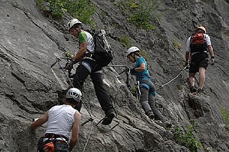 Klettersteig Weißbach