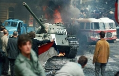 """""""Prager Frühling"""" - Proteste gegen Einmarsch in Prag"""