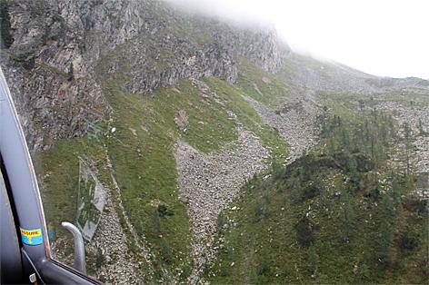 Fliegerbombe bei Hüttschlag