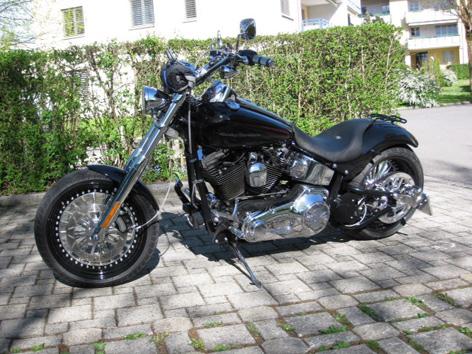 Gestohlene Harley-Davidson