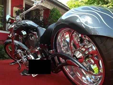 Gestohlene Harley Excalibur
