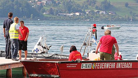 Feuerwehr sucht nach Taucher