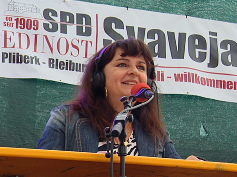 Danica Thaler Urschitz pliberški jormak Pliberk svaveja voščila čestitke pozdravi moderacija