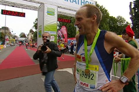 Martin Wallner, Marathon-Sieger 2013