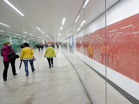 Karlsplatzpassage nach Umbau eröffnet