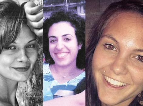 vermisste junge Frauen