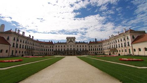 Schloss Esterhaza in Fertöd