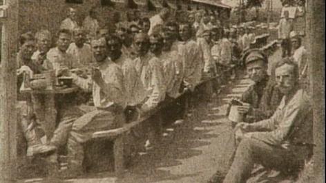 Foto von Gefangenen im Lager Neckenmarkt