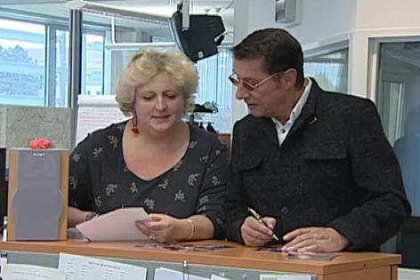 Marina Watteck und Udo Jürgens (von links)