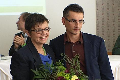 Madeleine Petrovic und Thomas Huber