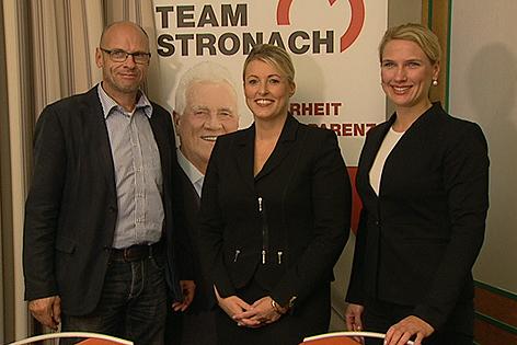 Walter Naderer, Renate Heiser-Fischer, Kathrin Nachbaur