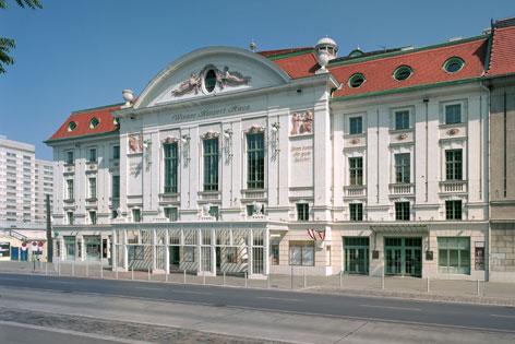 Fassade des Wiener Konzerthauses