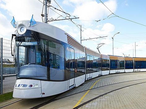 Straßenbahn-Modell für Marseille der Firma Bombardier