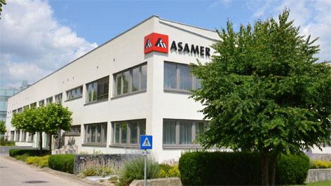 Die Konzernzentrale von Asamer