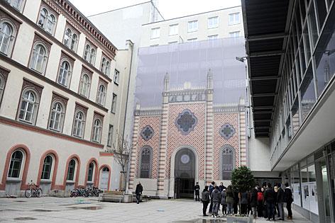 Fassadenbild Leopoldstädter Tempel
