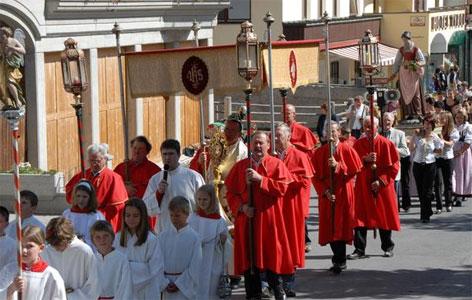 Prozession der Bruderschaft