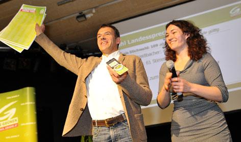 Georg Willi und Ingrid Felipe