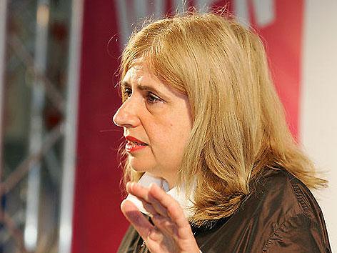 Sibylle Lewitscharoff bei der Eröffnung der Buch Wien
