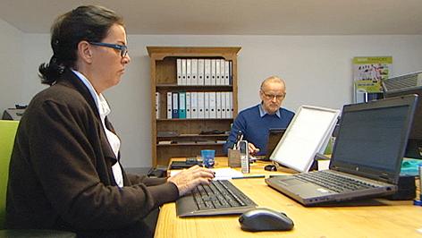 Ewald Aigner führt die  Firma TST mit seiner Frau