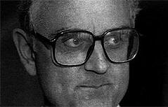 Pfarrer August Janisch vor 20 Jahren