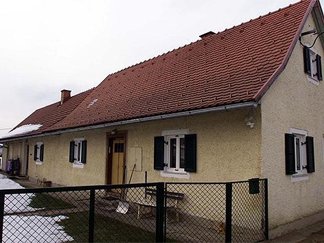 Das Elternhaus von Franz Fuchs
