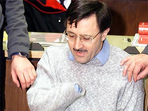 Franz Fuchs beim Prozess