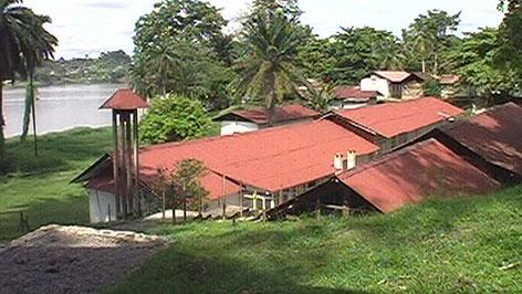 Albert Schweitzer Hospital im Gabun