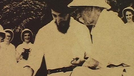 Albert Schweitzer - altes Foto