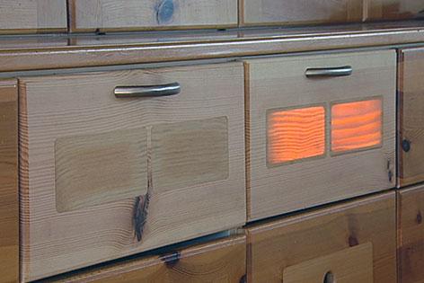 sch ler erforschen durchsichtiges holz salzburg. Black Bedroom Furniture Sets. Home Design Ideas