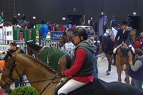 Teilnehmer beim Pappas Amadeus Horse Indoors in der Salzburg Arena