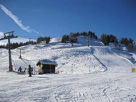 Nassfeld Skigebiet Winter