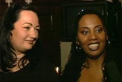 """Tini Kainrath und Lynne Kieran von den """"Rounder Girls"""""""