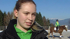 Adriana Faa Stiegerhof šola konji