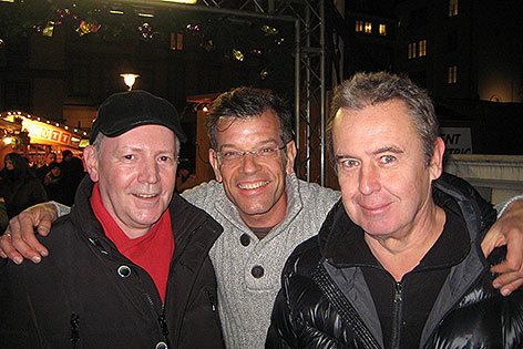 Christian Ludwig, Udo Huber und Karl Ploberger