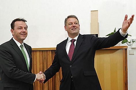 Amtsübergabe Berlakovic an Rupprechter