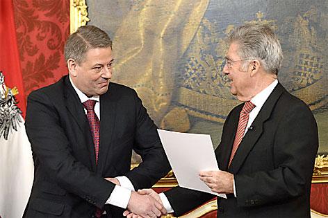 Rupprechter als Minister angelobt - tirol ORF at
