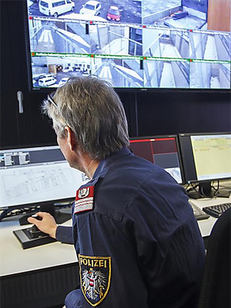 Sicherheitszentrale Schubhaftzentrum Vordernberg