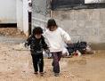 Syrische Flüchtlingskinder im Zattari Flüchtlingscamp in Jordanien