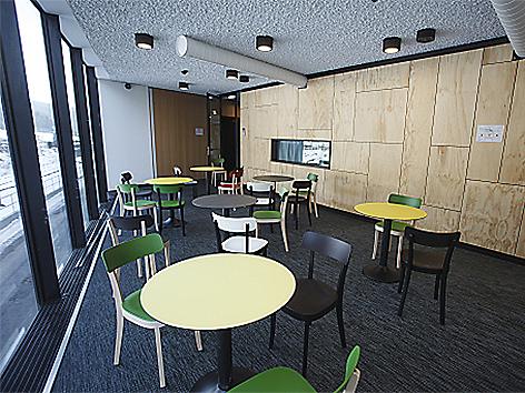 Besuchsraum Schubhaftzentrum Vordernberg