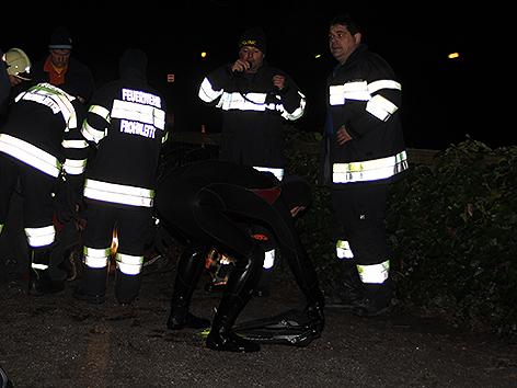 Taucher Feuerwehr Rettung