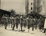 Gehschule im Ersten Weltkrieg