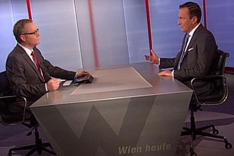 Manfred Juraczka im Wien heute-Interview