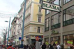 Slama-Geschäft in der Mariahilfer Straße